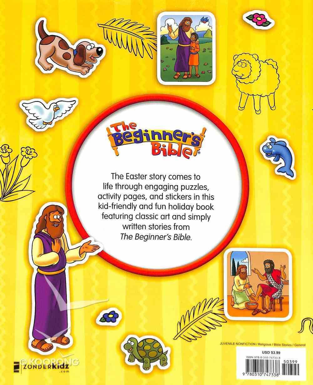 The Beginner's Bible Come Celebrate Easter Sticker and Activity Book Paperback