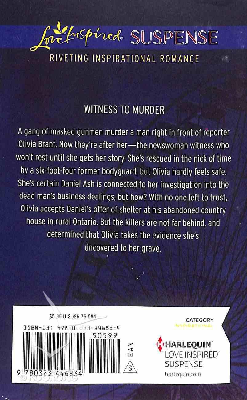 Headline - Murder (Love Inspired Suspense Series) Mass Market