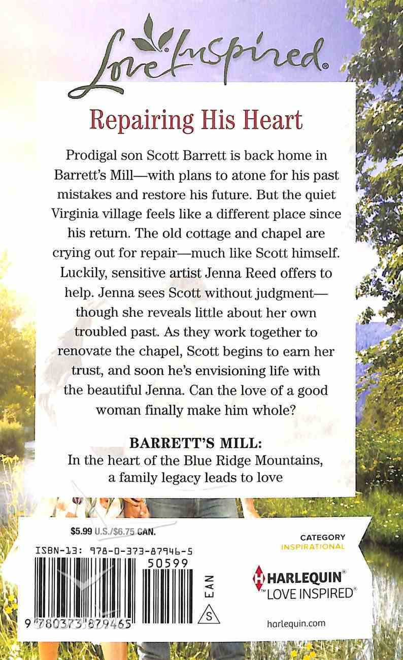 Finding His Way Home (Barrett's Mill) (Love Inspired Series) Mass Market