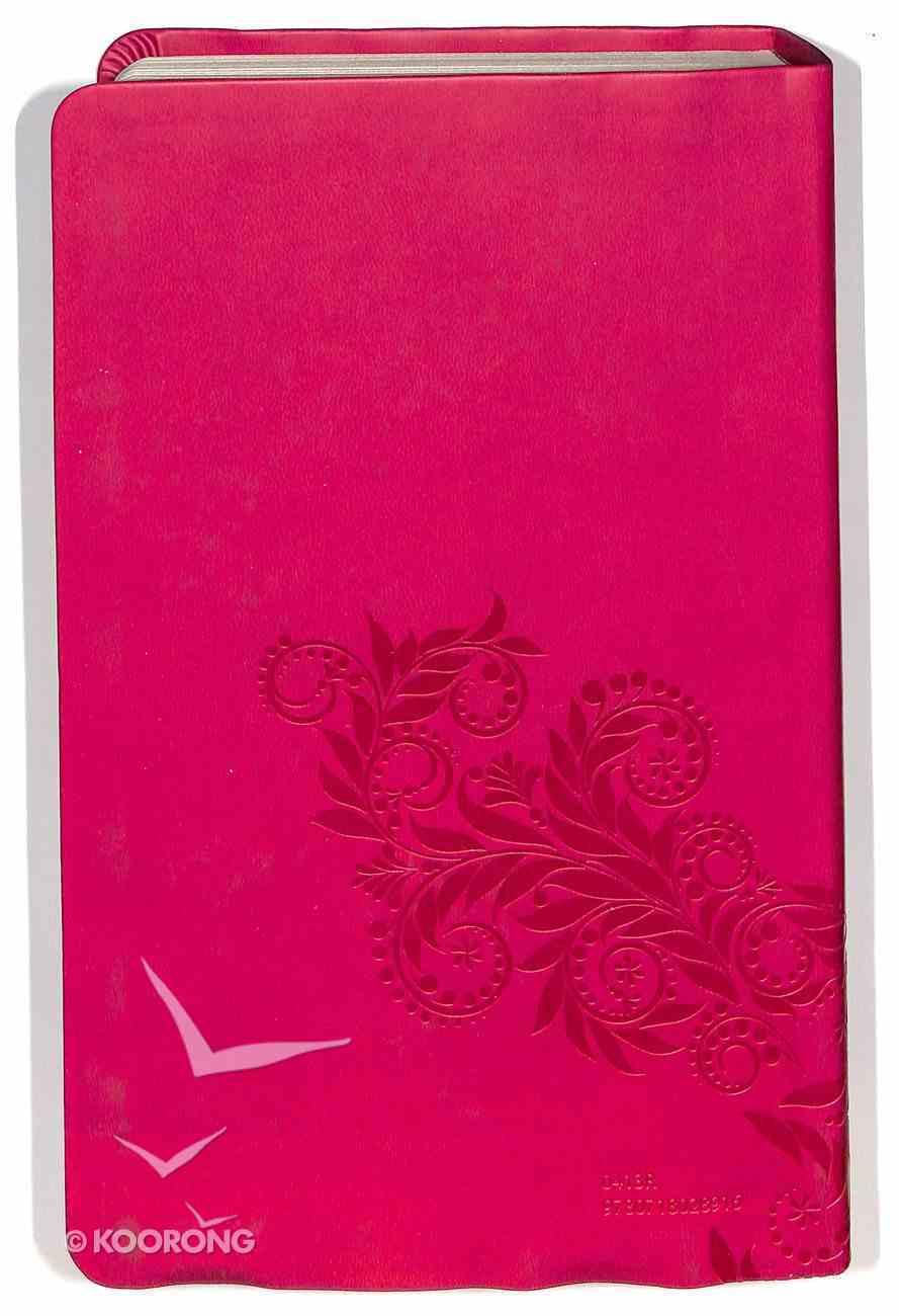 NKJV Gift Bible Raspberry Custom Edition Premium Imitation Leather