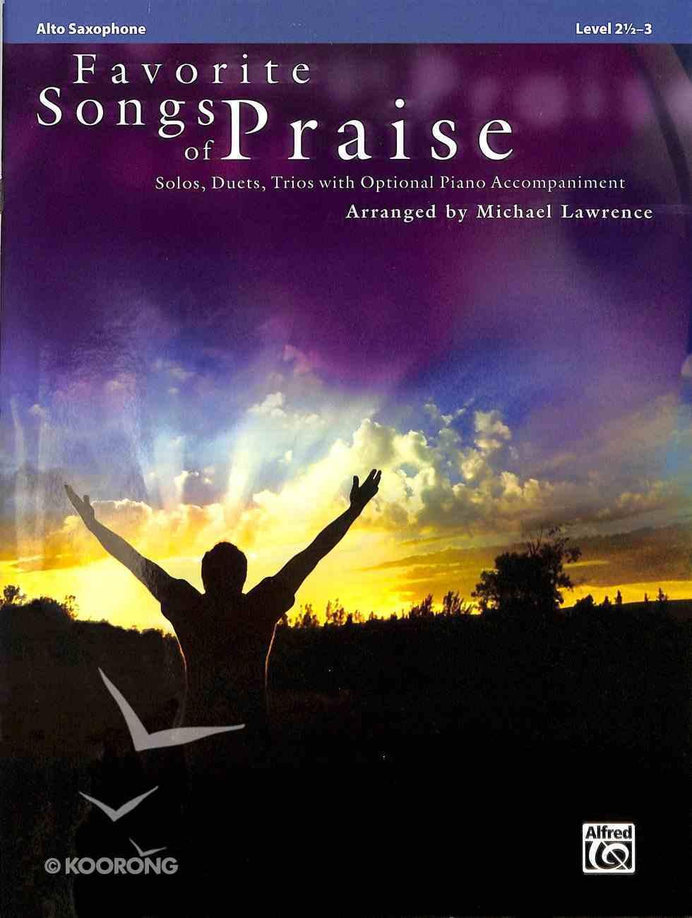 Favorite Songs of Praise (Music Book) (Flute) Paperback