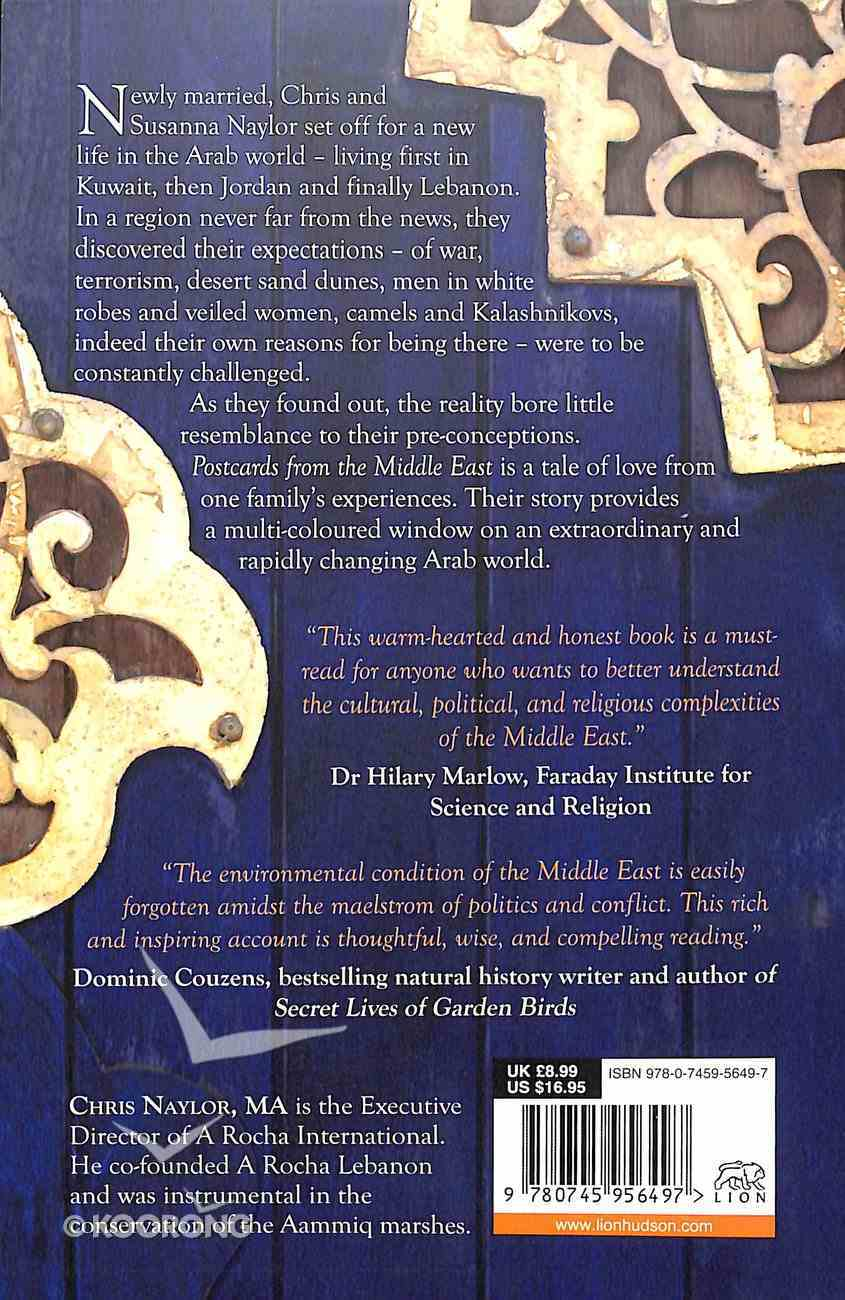 Postcards From the Middle East Paperback