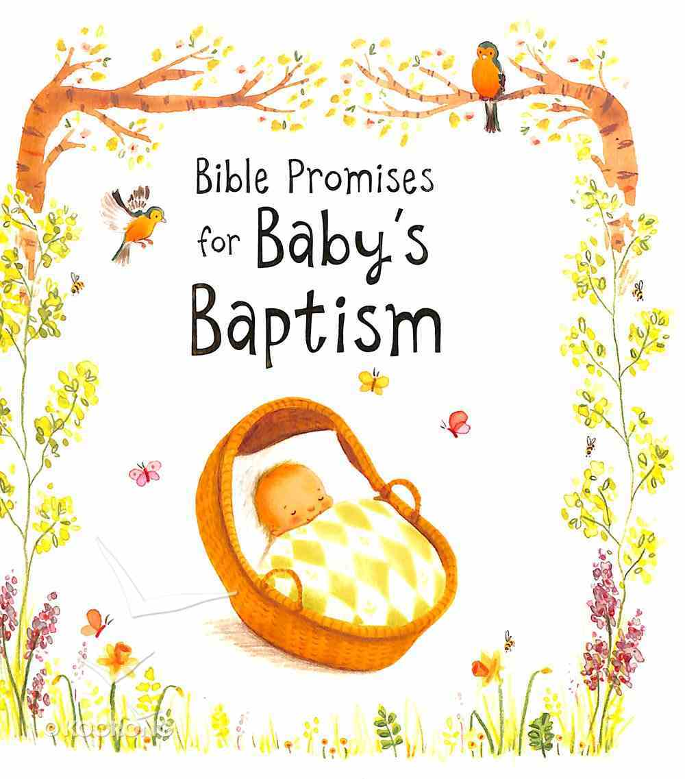 Bible Promises For Baby's Baptism Hardback
