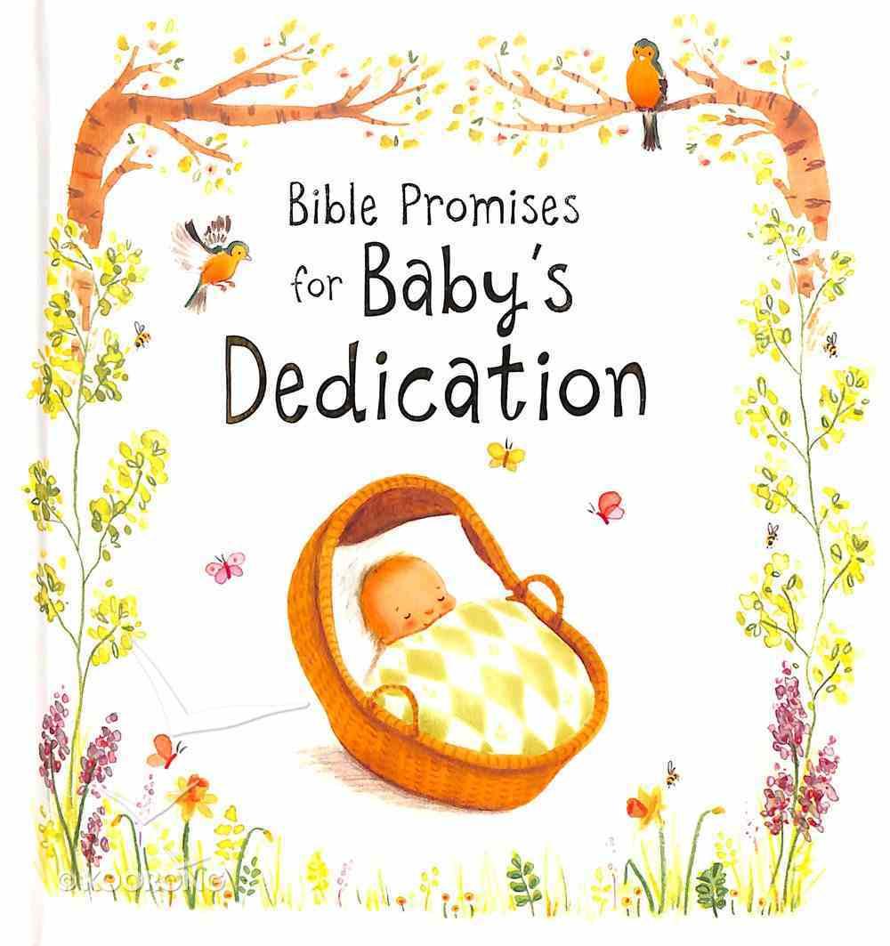 Bible Promises For Baby's Dedication Hardback