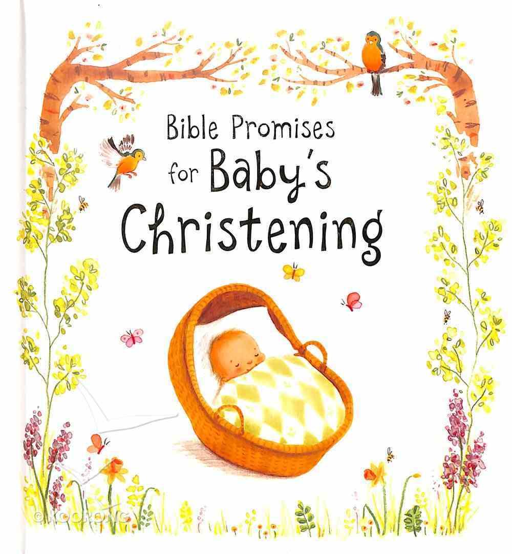 Bible Promises For Baby's Christening Hardback