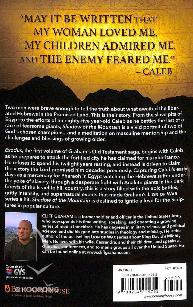 Exodus (#01 in Shadow Of The Mountain Series) Paperback