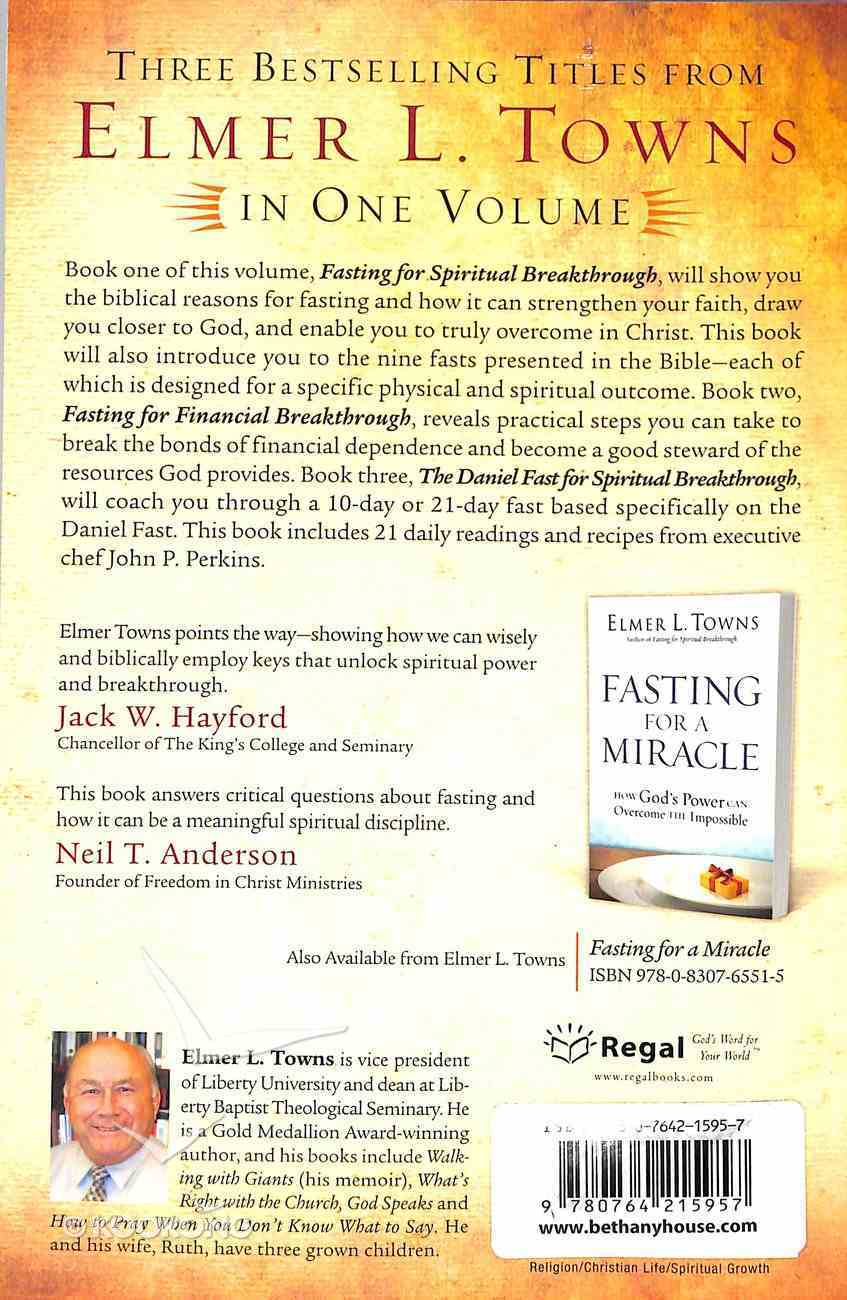 The Breakthrough Guide to Fasting (Omnibus Edition) Paperback