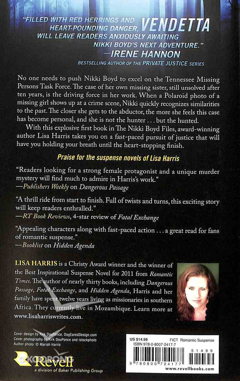 Vendetta (#01 in Nikki Boyd Files Series) Paperback