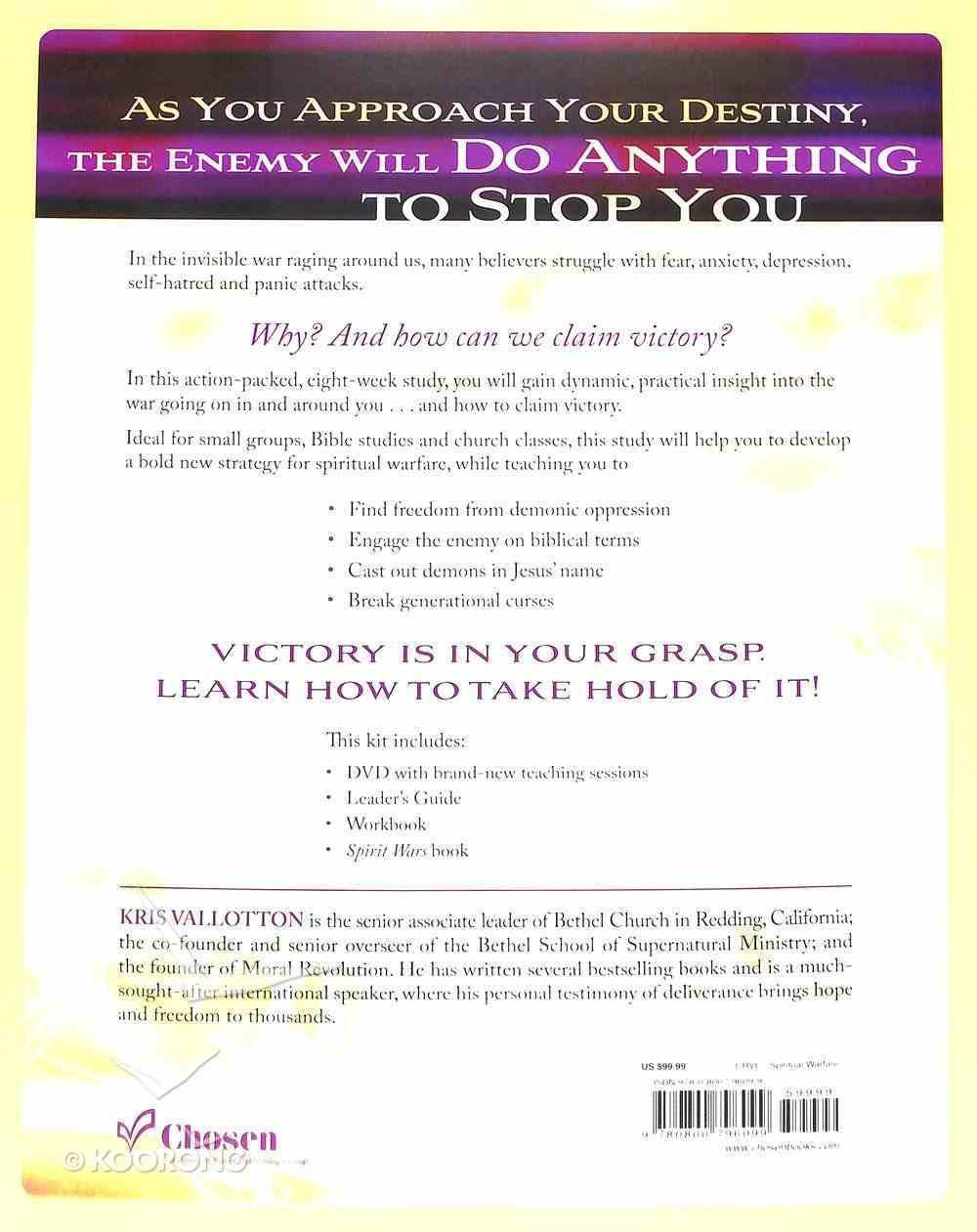 Spirit Wars: Winning the Invisible Battle Against Sin and the Enemy (Curriculum Kit) Pack