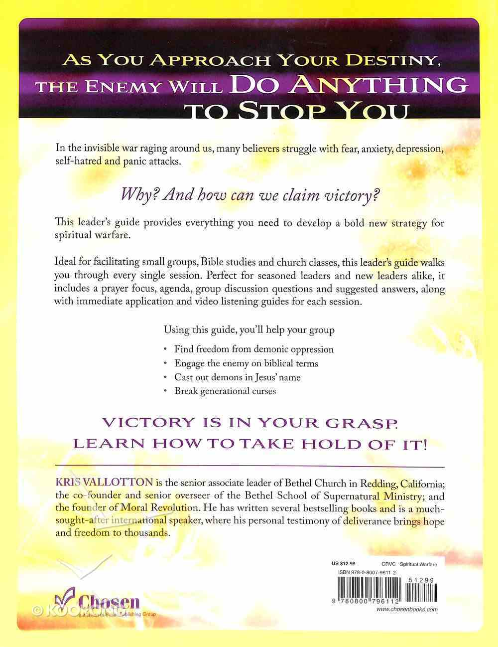 Spirit Wars: Winning the Invisible Battle Against Sin and the Enemy (Leader's Guide) Paperback