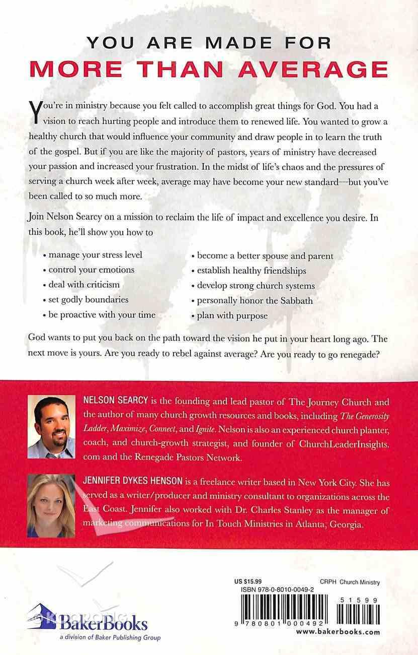 The Renegade Pastor Paperback