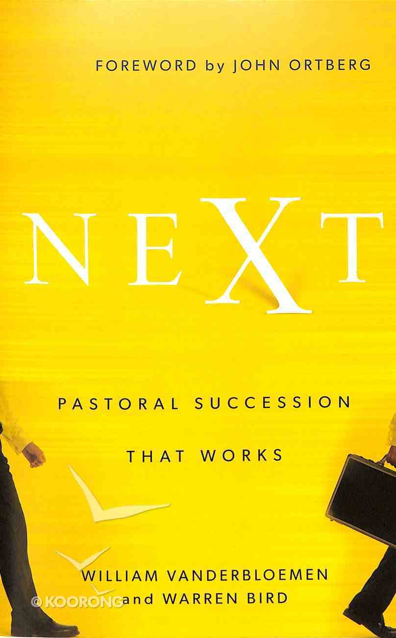 Next: Pastoral Succession That Works Paperback