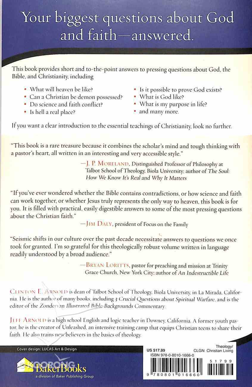Short Answers to Big Questions About God, the Bible, and Christianity Paperback
