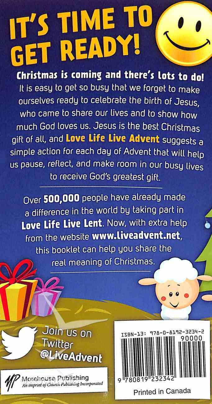 Love Life, Live Advent Booklet Paperback