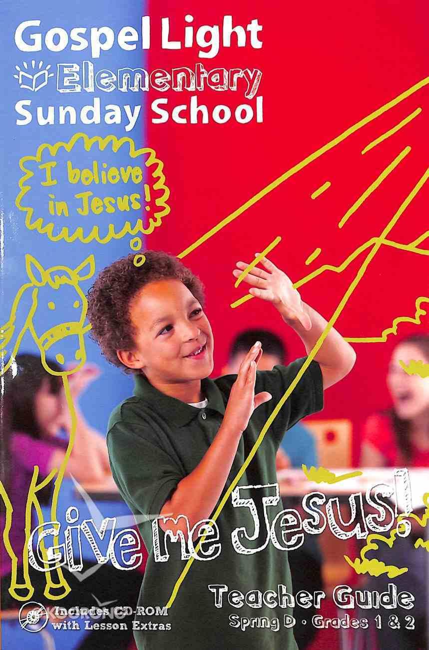Gllw Spring D 2019 Grades 1&2 Teacher's Guide (Gospel Light Living Word Series) Paperback