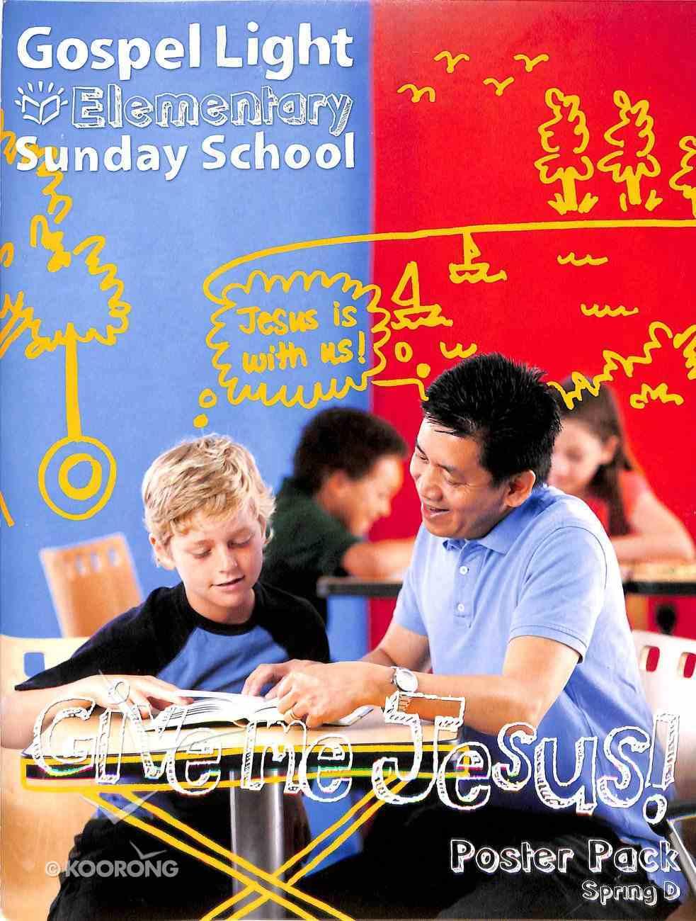 Gllw Spring D 2019 Grades 1-4 Bible Teaching Poster Pack (Gospel Light Living Word Series) Poster