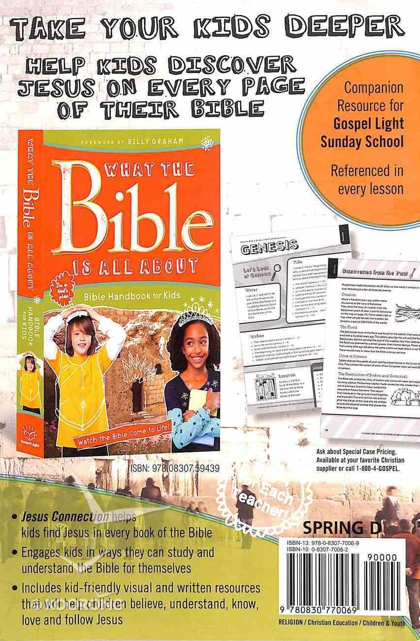 Gllw Spring D 2019 Grades 3&4 Teacher Guide (Gospel Light Living Word Series) Paperback