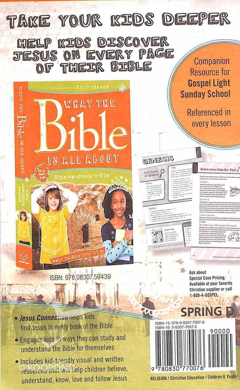 Gllw Spring D 2019 Grades 3&4 Kid Talk Cards (5 Pack For 5 Kids) (Gospel Light Living Word Series) Pack