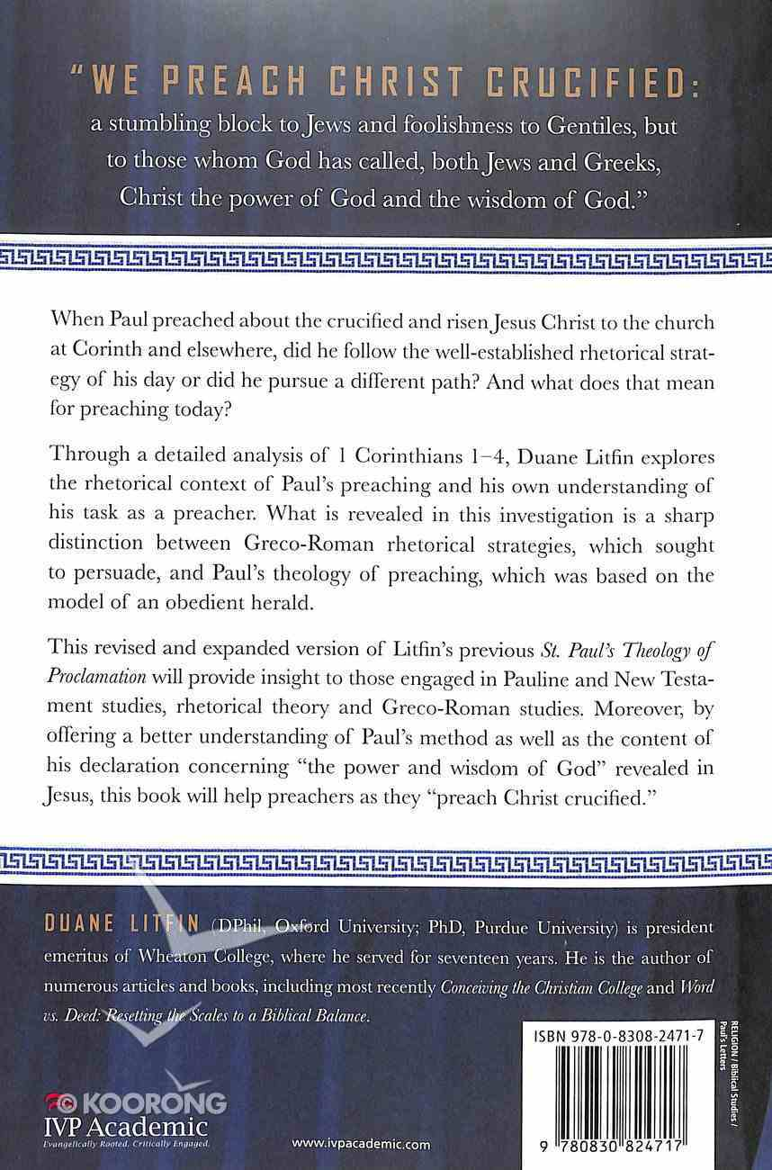 Paul's Theology of Preaching Paperback