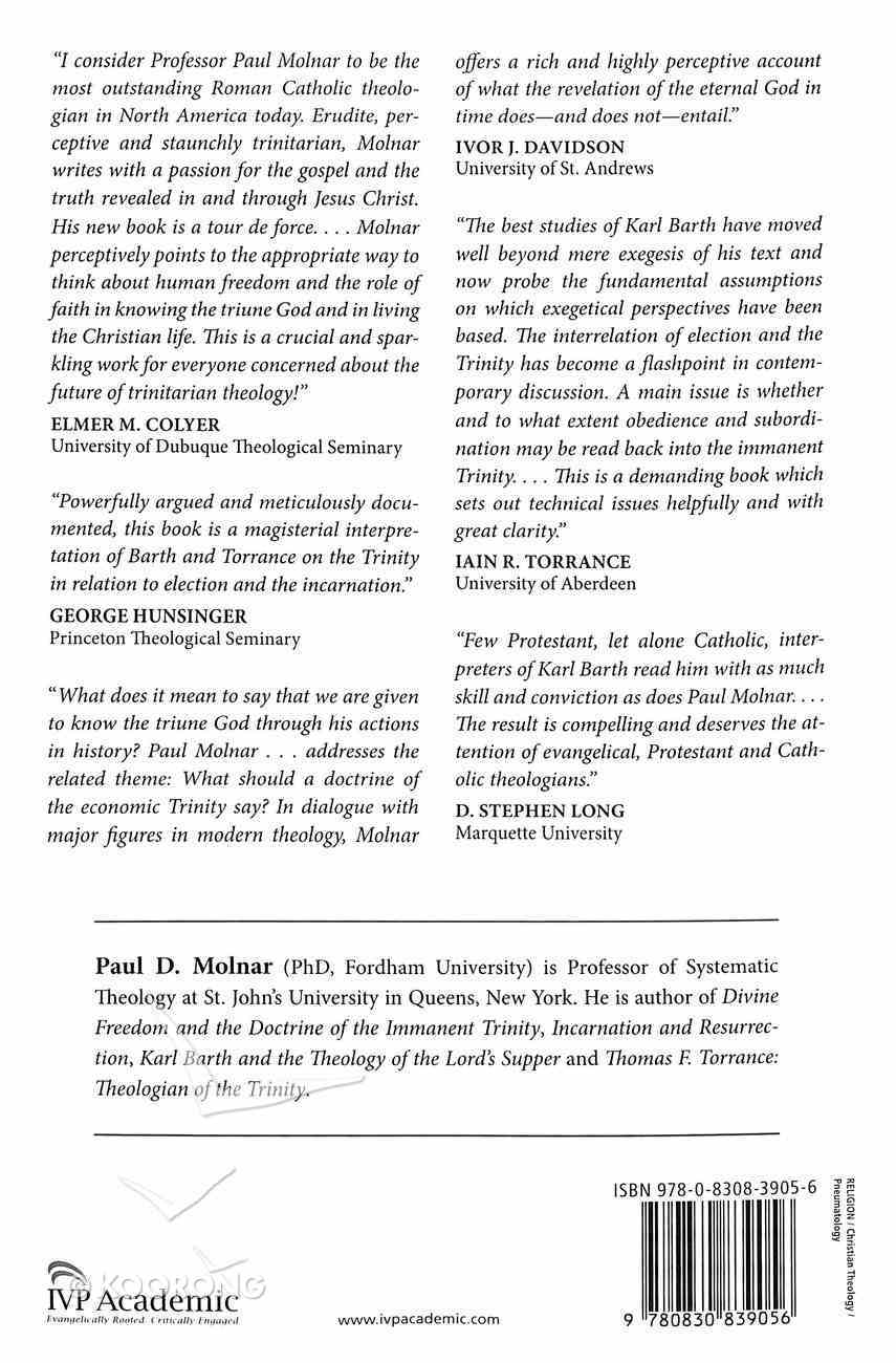 Faith, Freedom and the Spirit: The Economic Trinity in Barth, Torrance and Contemporary Theology Paperback
