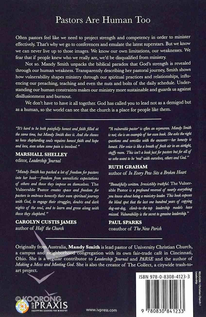 The Vulnerable Pastor Paperback