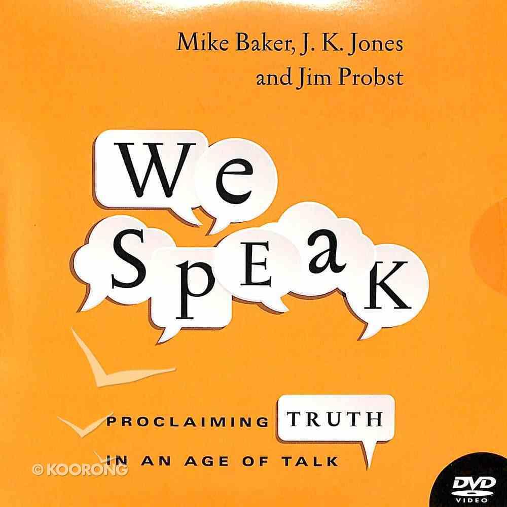 We Speak DVD