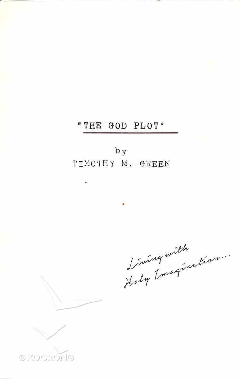 The God Plot Paperback