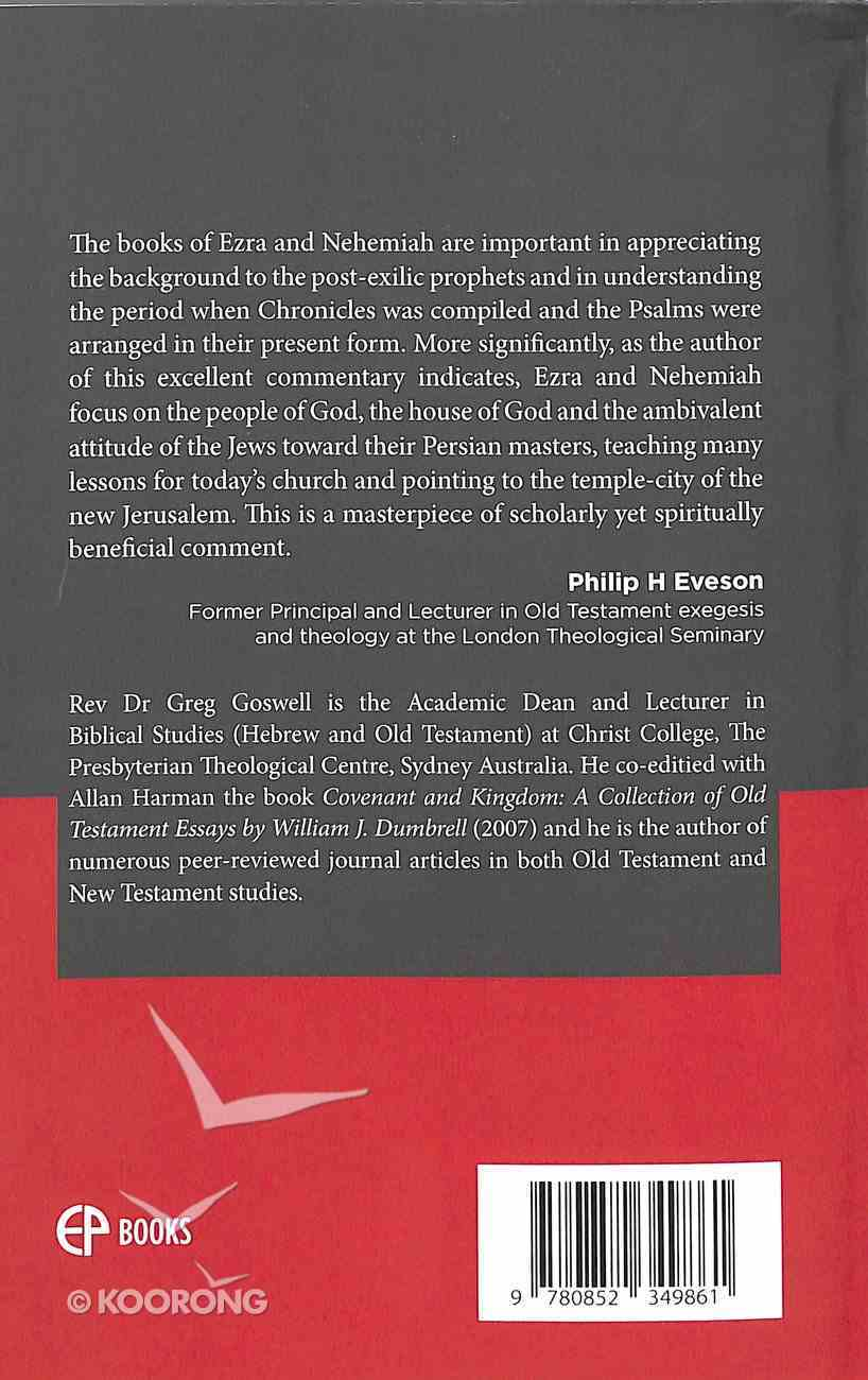 Ezra-Nehemiah (Evangelical Press Study Commentary Series) Paperback