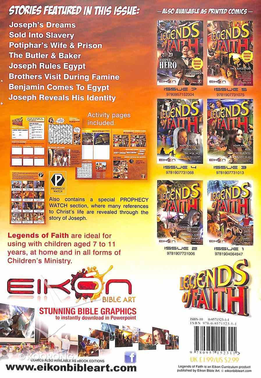 Joseph (#06 in Legends Of Faith Comic Book Series) Paperback