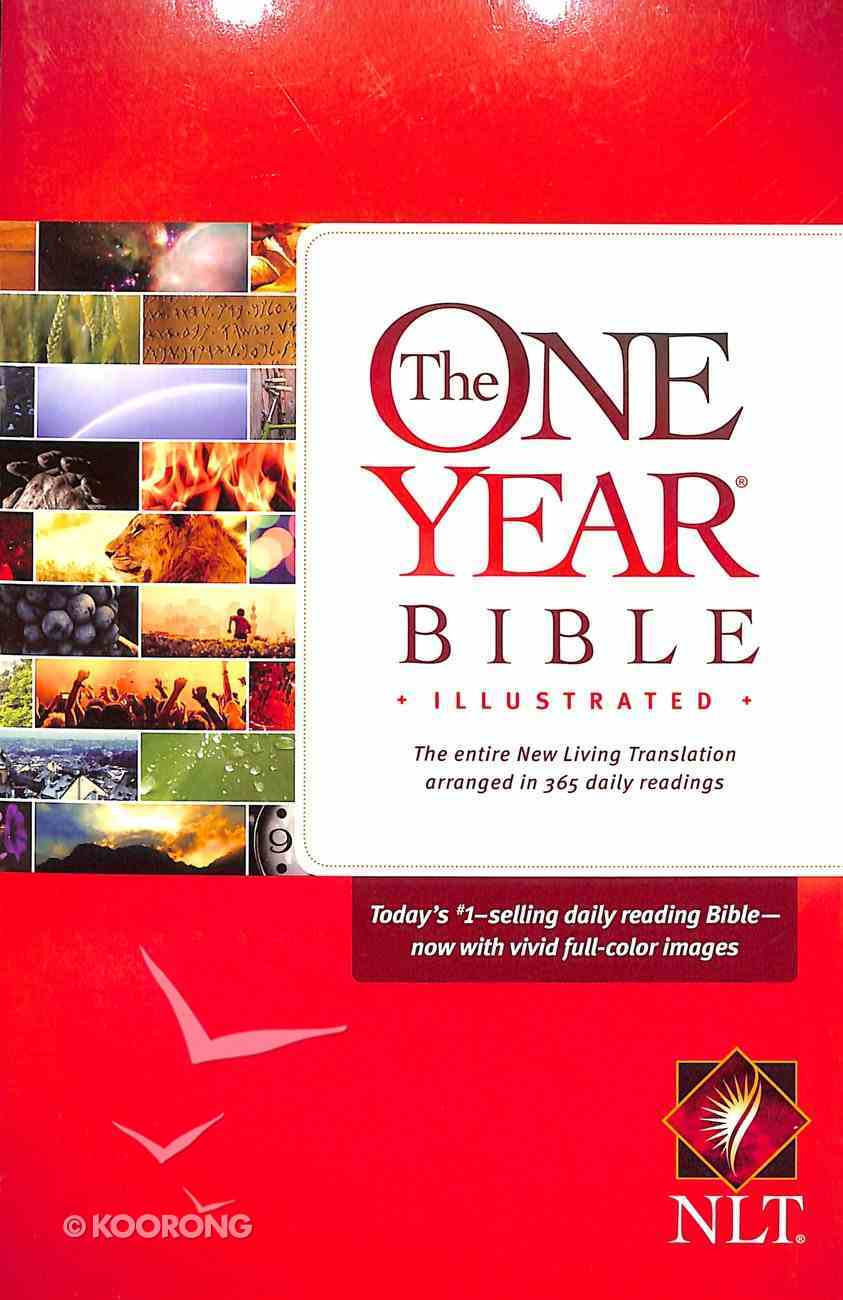 NLT One Year Bible Illustrated (Black Letter Edition) Paperback