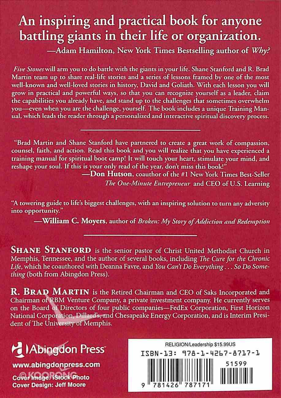 Five Stones: Conquering Your Giants Paperback
