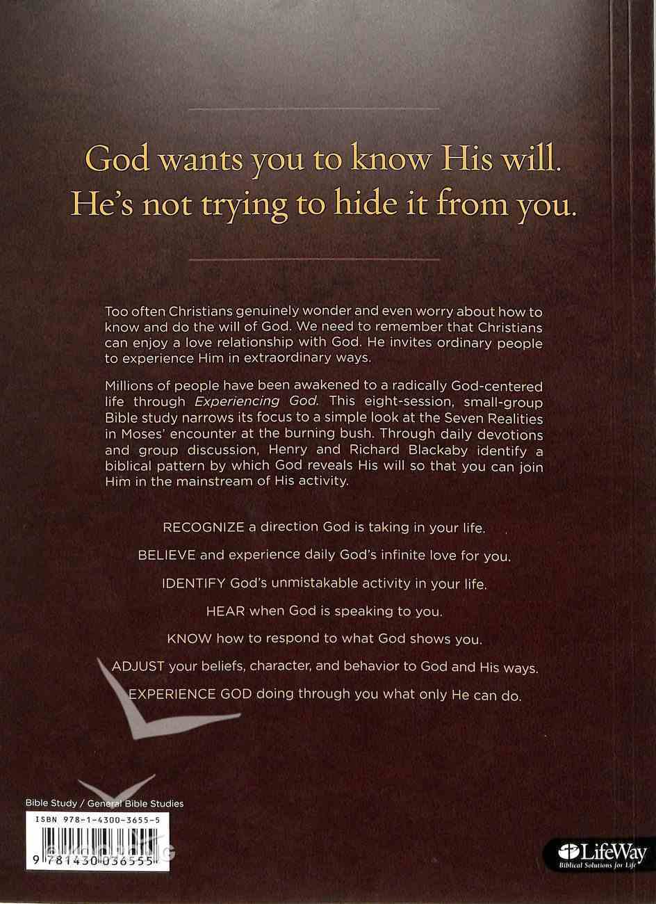 Seven Realities For Experiencing God Member Book Paperback