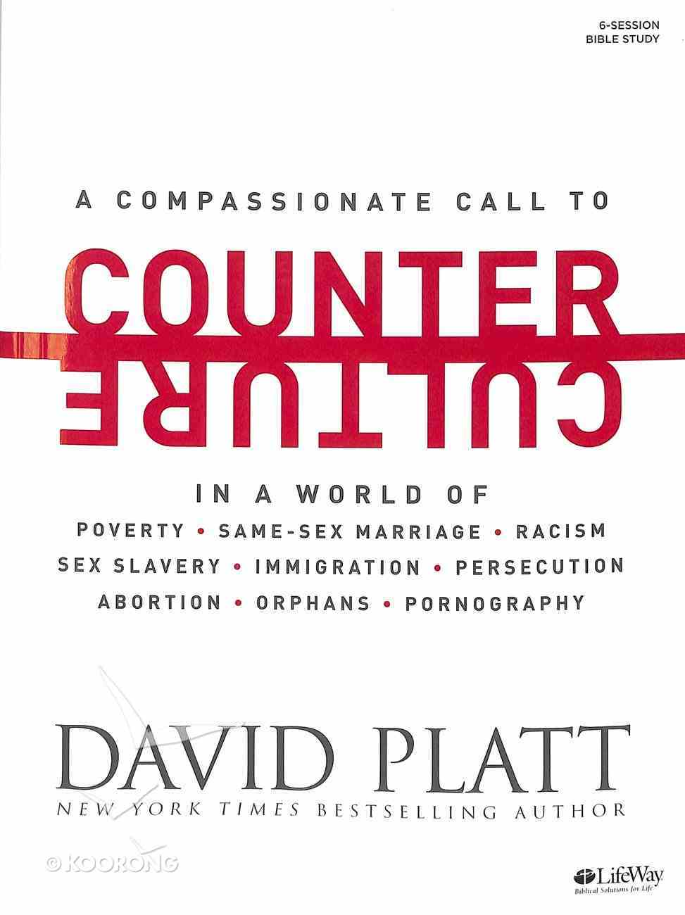 Counter Culture (Bible Study Book) Paperback