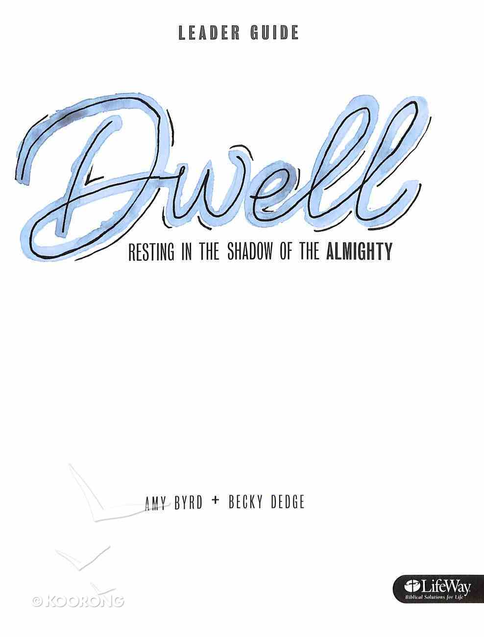 Dwell (Leader's Guide) Paperback
