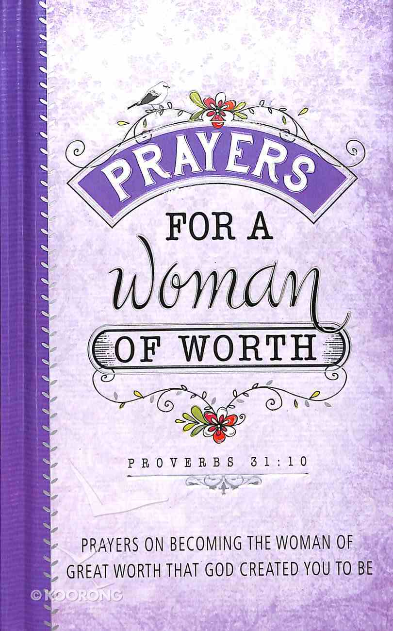 Prayers For a Woman of Worth Hardback