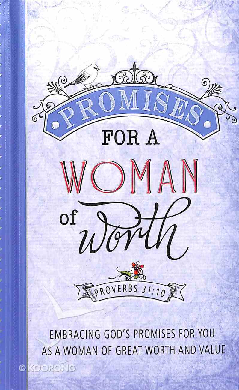 Promises For a Woman of Worth Hardback