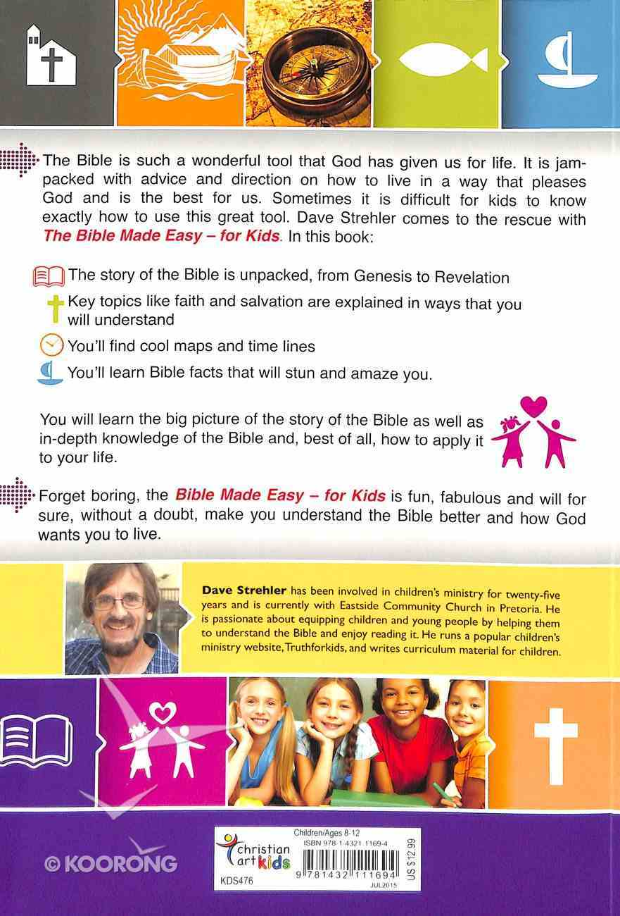 The Bible Made Easy For Kids Paperback