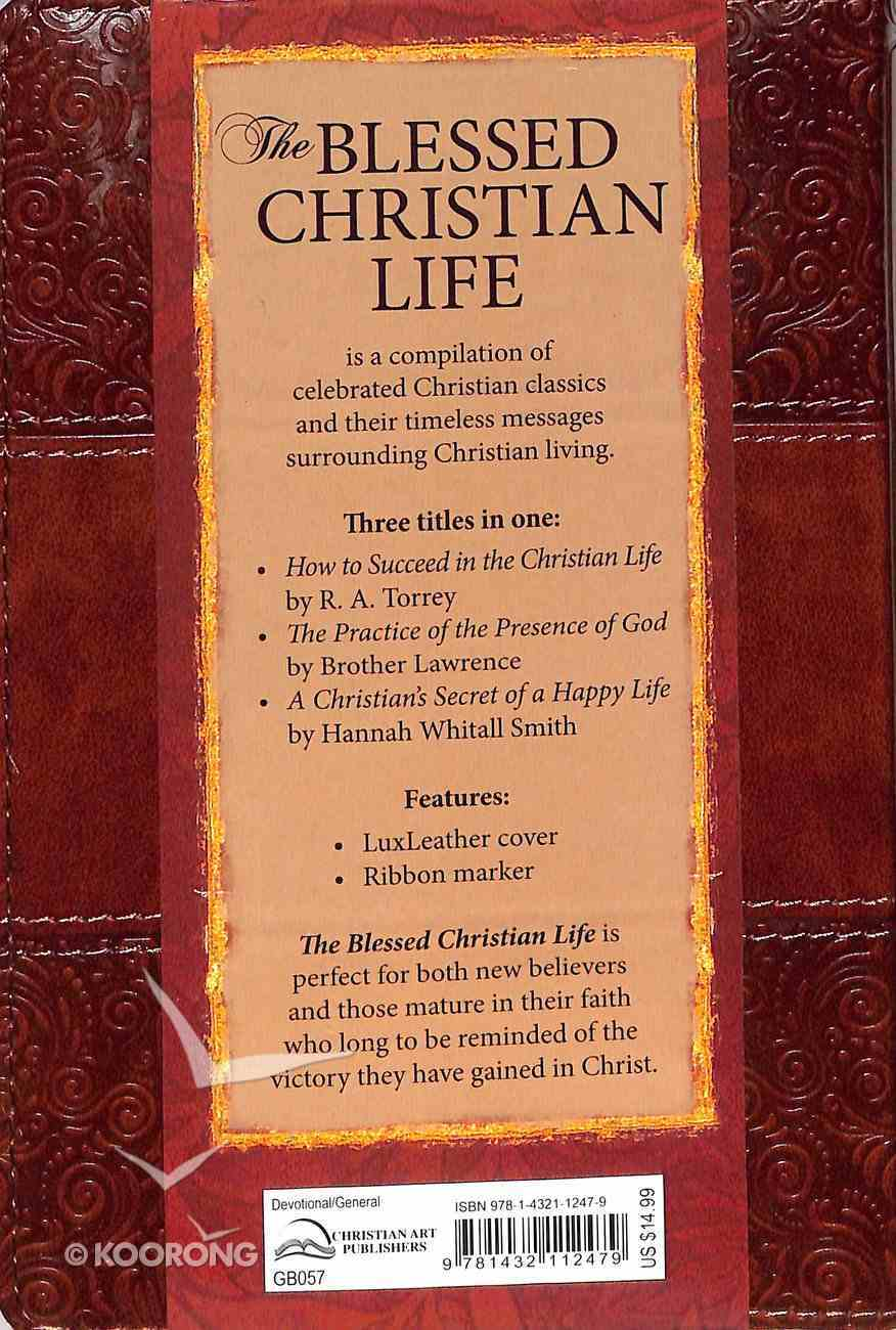 The Blessed Christian Life Imitation Leather