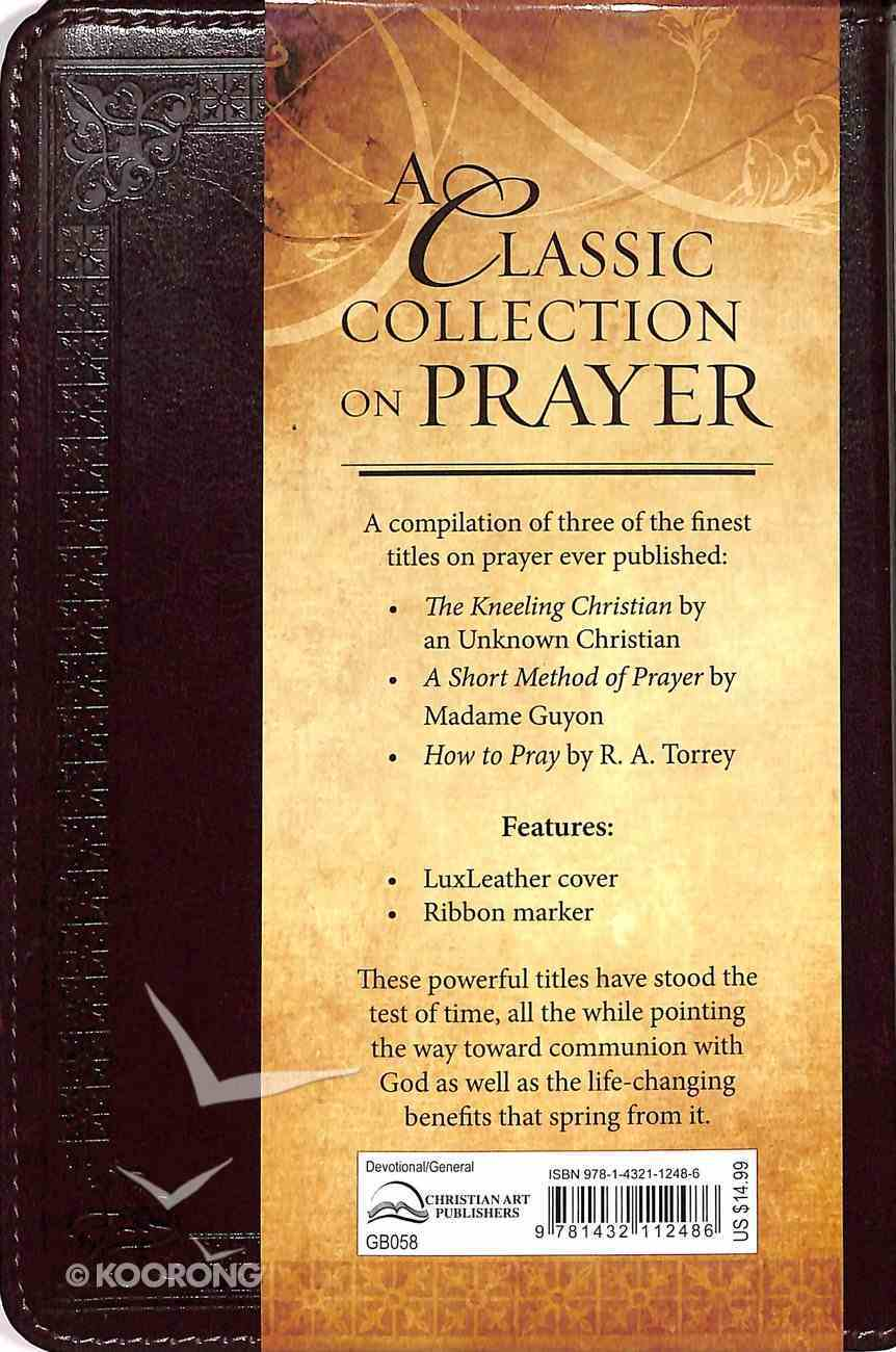 A Classic Collection on Prayer Imitation Leather
