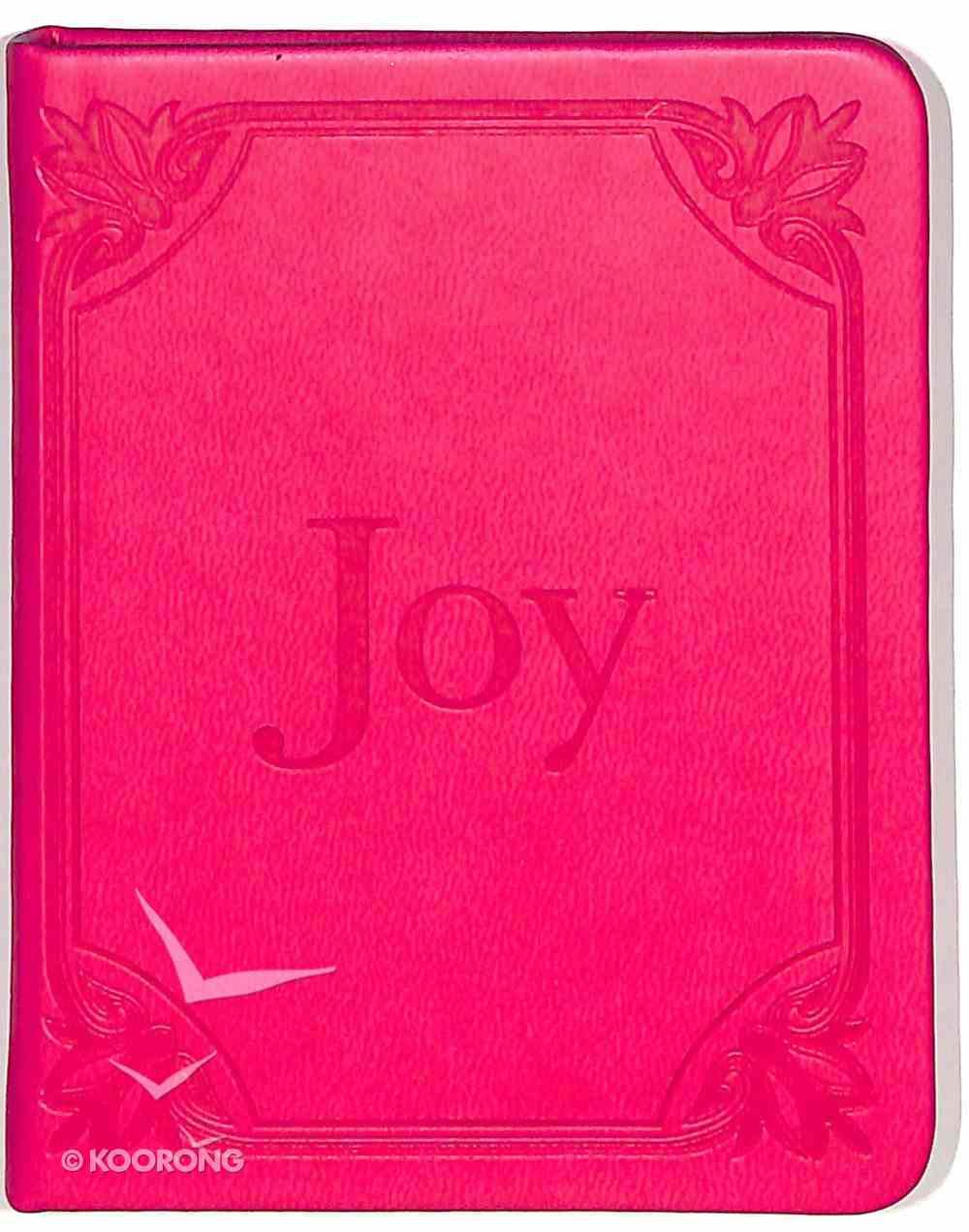 Joy (Bright Pink) (Pocket Inspirations Series) Imitation Leather