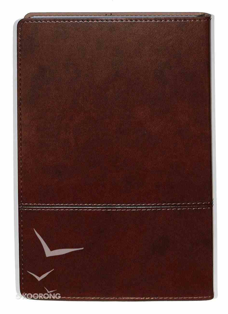 Journal: Trust, Dark Brown Flexcover Luxleather Imitation Leather
