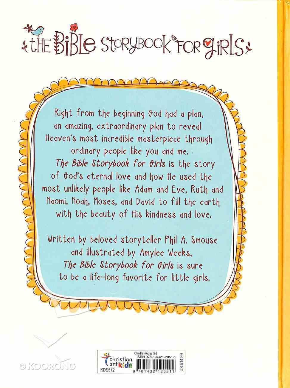 The Bible Storybook For Girls Hardback