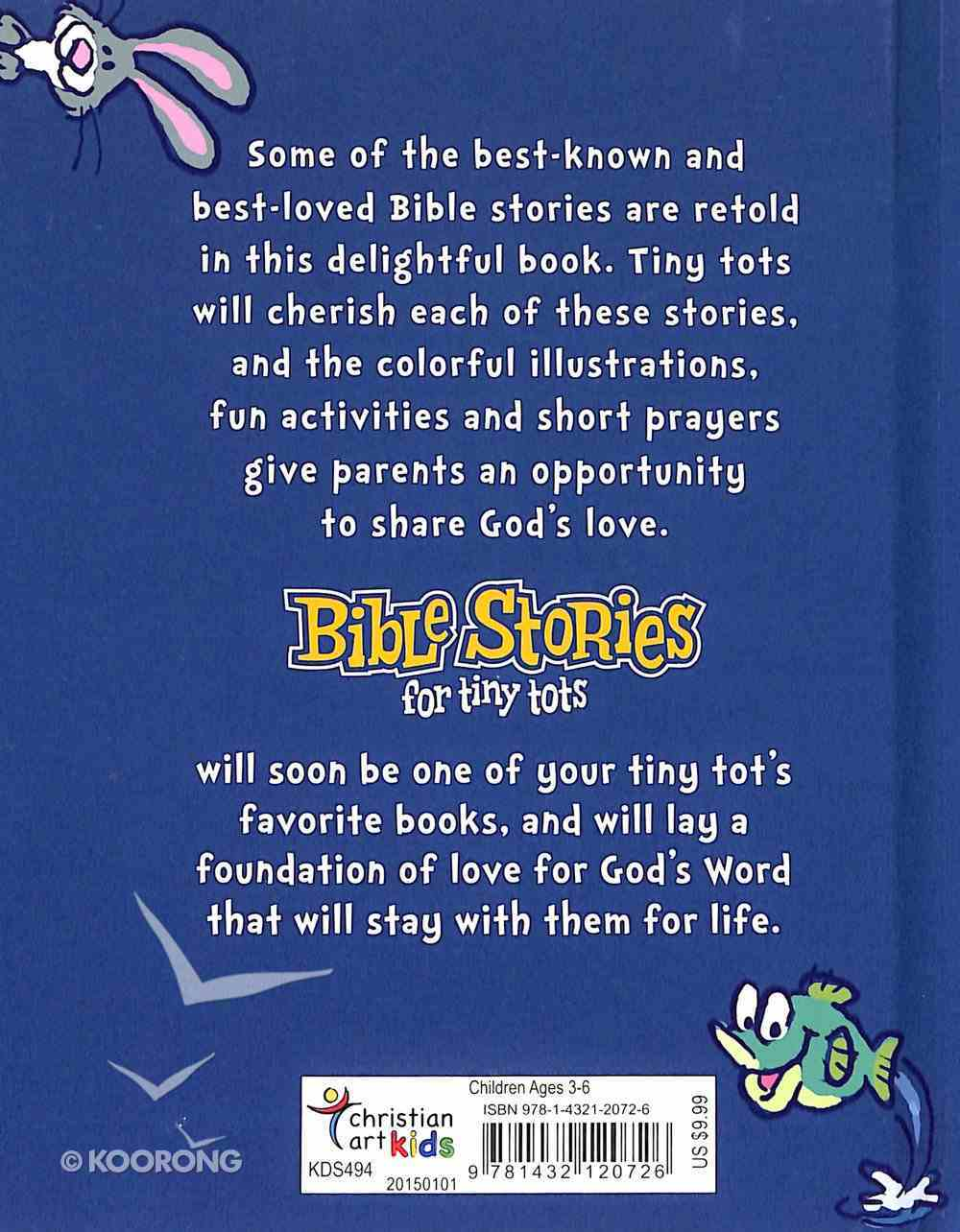 Bible Stories For Tiny Tots Board Book