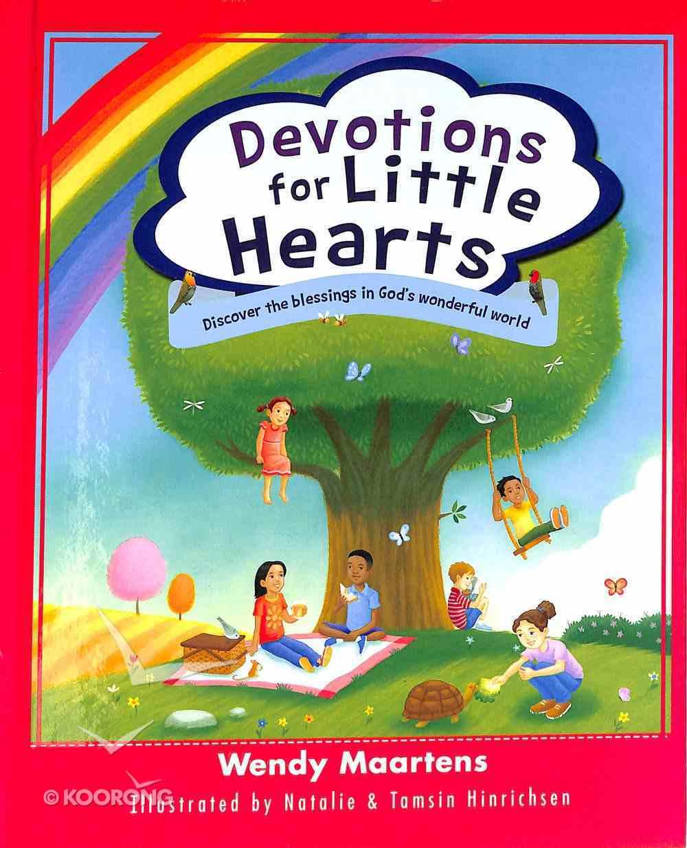 Devotions For Little Hearts Hardback