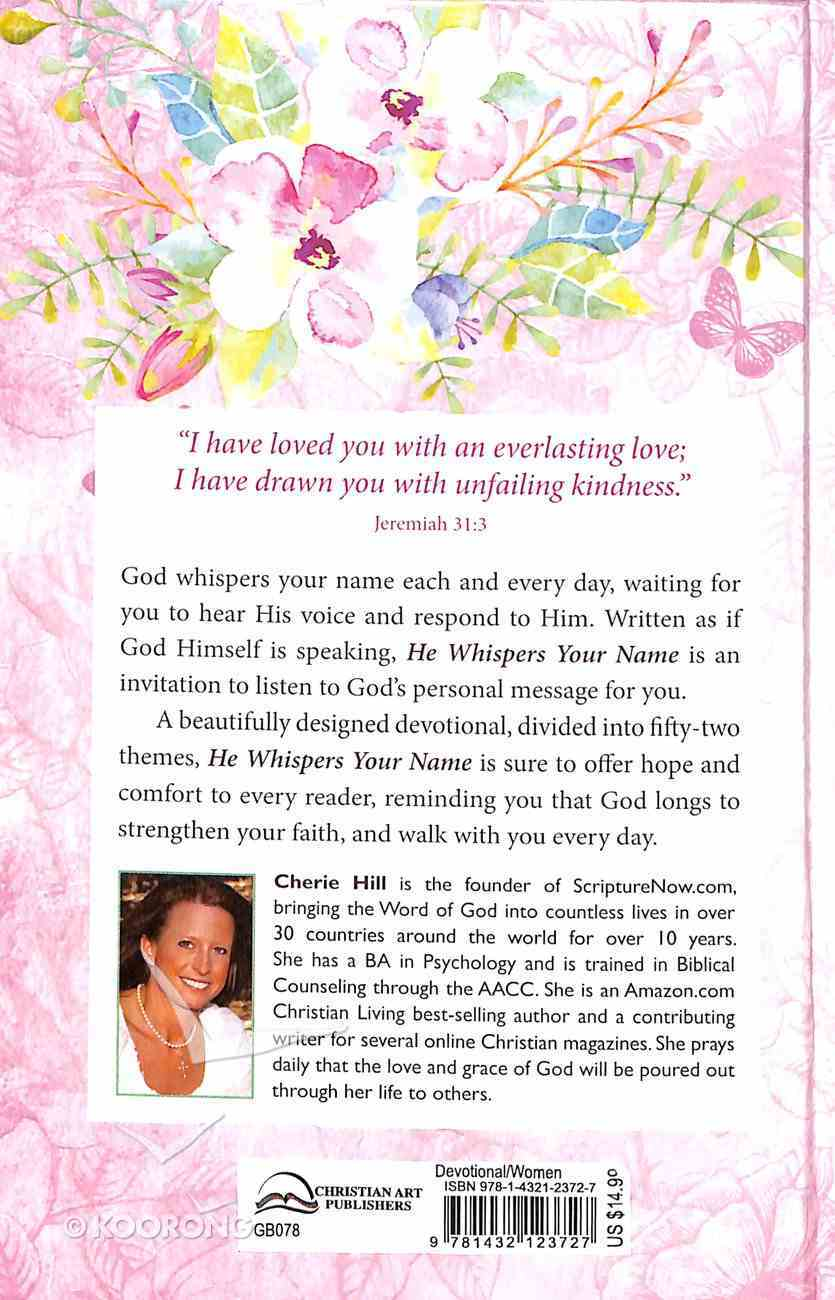365 Devotions: He Whispers Your Name Hardback
