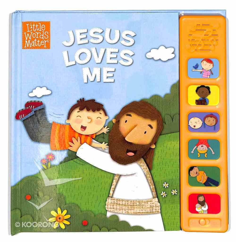 Jesus Loves Me, Sound Book Board Book