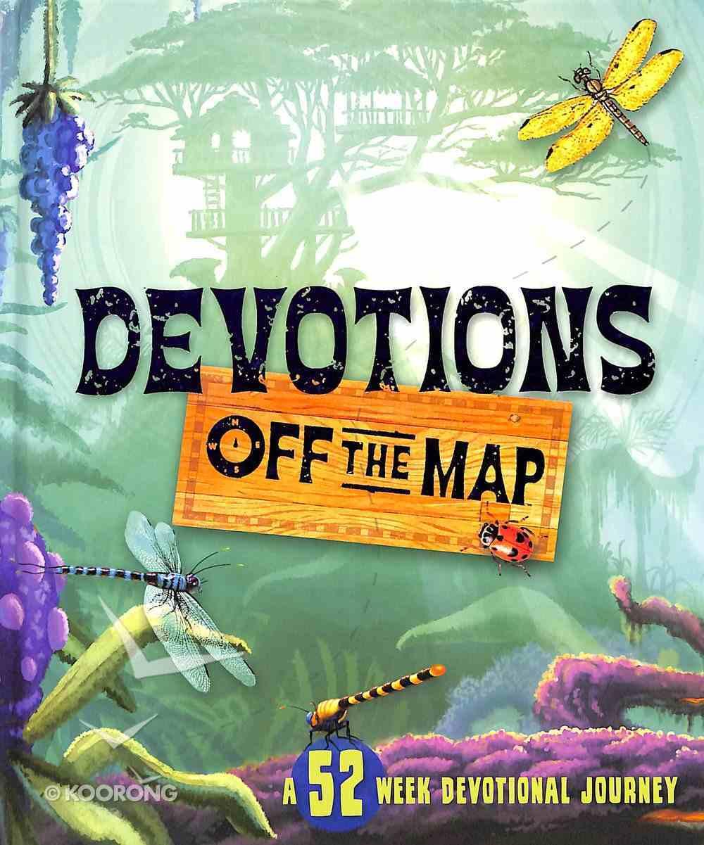 Devotions Off the Map Hardback