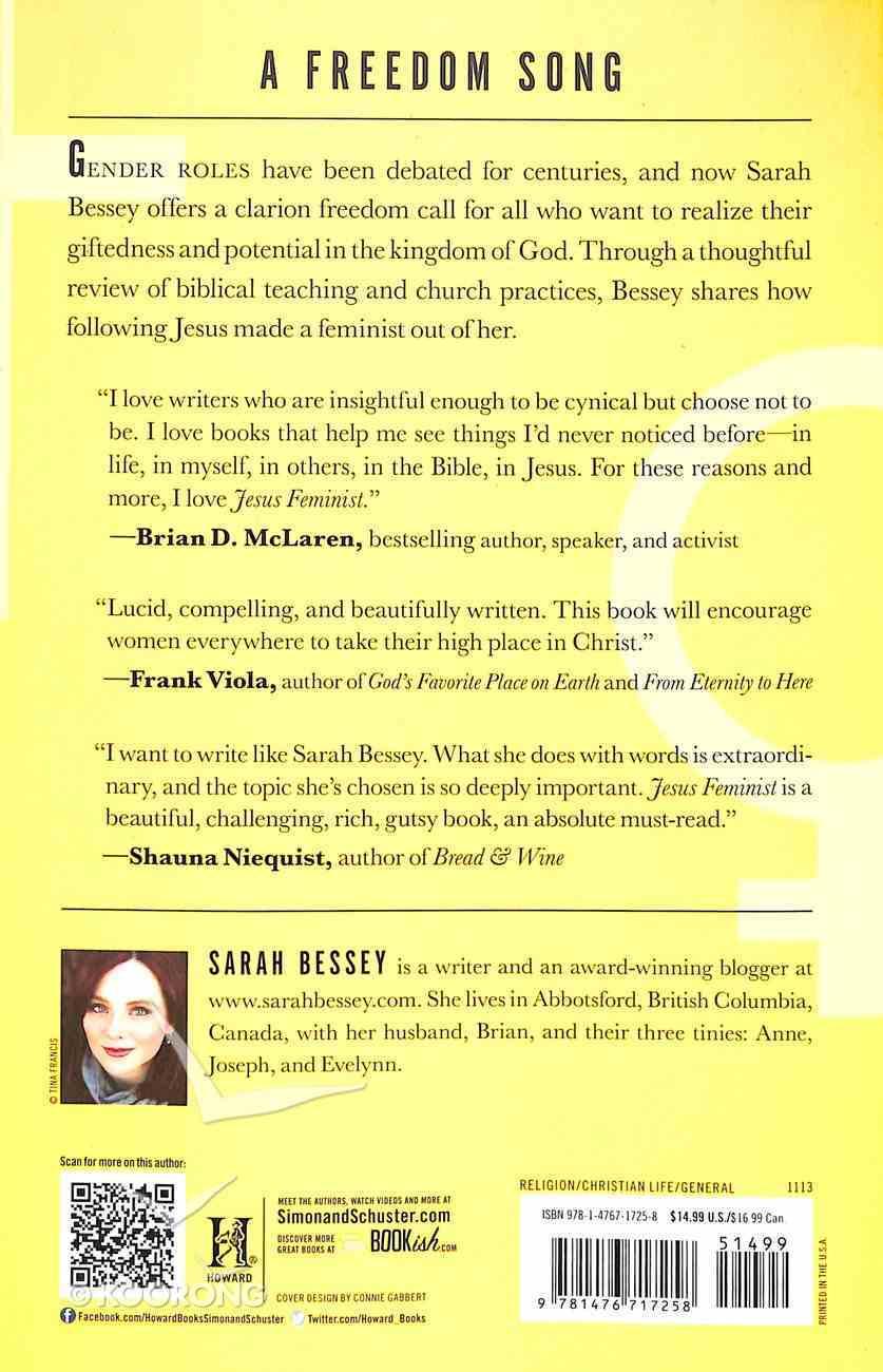 Jesus Feminist Paperback