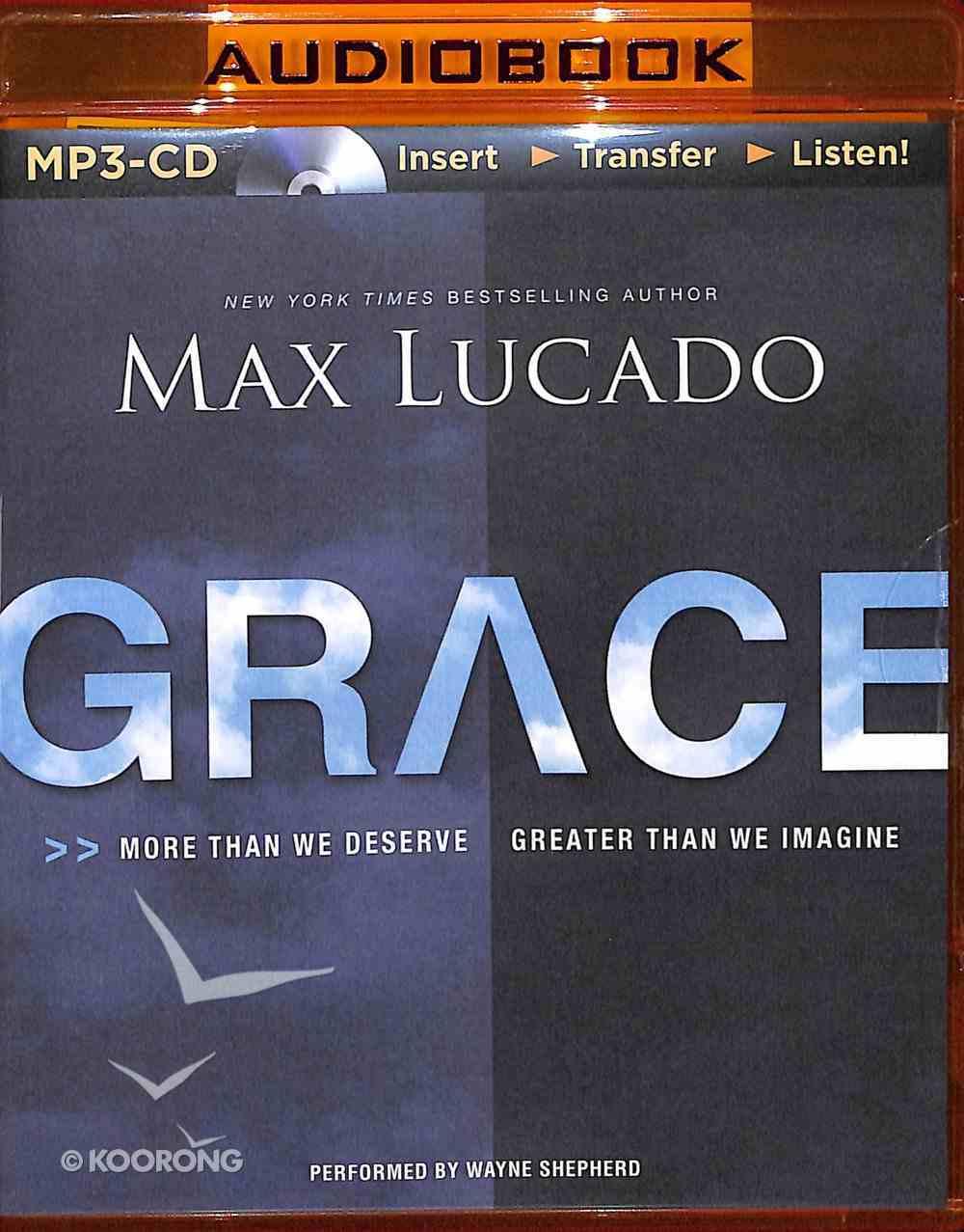 Grace (Unabridged, Mp3) CD