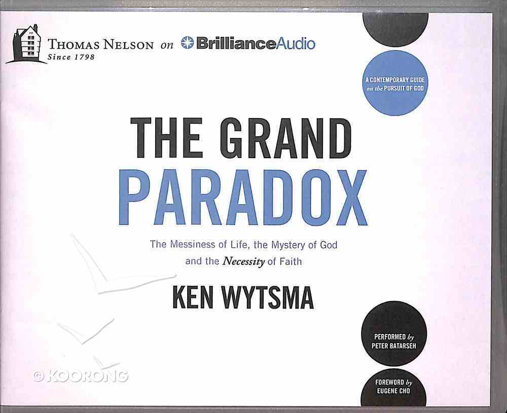 The Grand Paradox (Unabridged, 8 Cds) CD